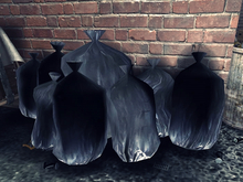 Pile of Trash Bags - Mesh - 1 prim each
