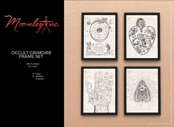 Moonley Inc. - Occult Grimoire Frame Set