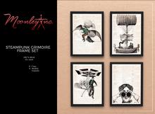 Moonley Inc. - Steampunk Grimoire Frame Set