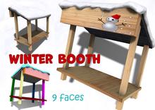 [ FULL PERM ] Winter Snow Booth