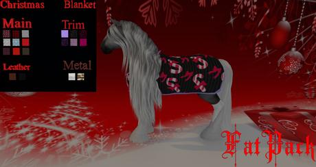 Christmas Blanket TeeglePet FatPack