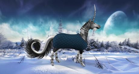 Quilted Blanket TeeglePet Unicorn