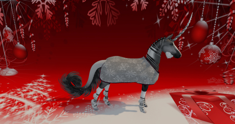 Christmas Blanket TeeglePet Unicorn
