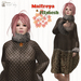 Maitreya & Fitmesh Fur Dress
