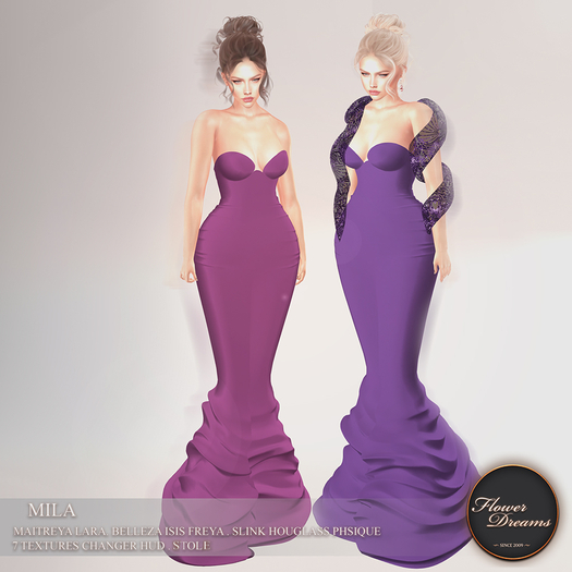 .:FlowerDreams:. Mila Gown
