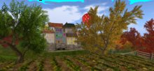 *~* Y's Art&Poses - Panorama Provencal Village LD