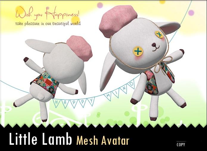 [Les Puces] Little lamb Avatar (Mesh)