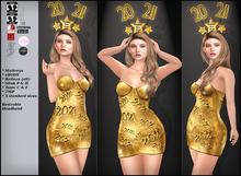 .:S&B:. Happy New Year 2021 Dress (unpacked)