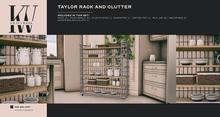 KraftWork Taylor's Rack and Clutter