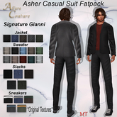 Asher Casual Outfit SIGNATURE GIANNI Fatpack (Add)