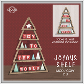 Sequel - Joyous Shelf - Christmas Decoration