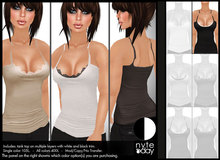 Nyte'N'Day - Decked Tank Top - Black