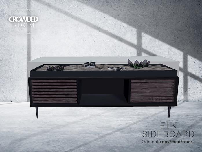Crowded Room - Elk Sideboard - Black