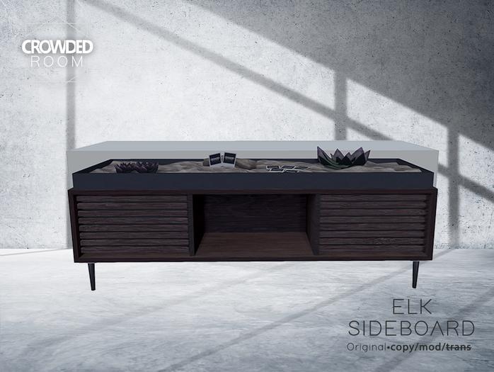 Crowded Room - Elk Sideboard - Wood