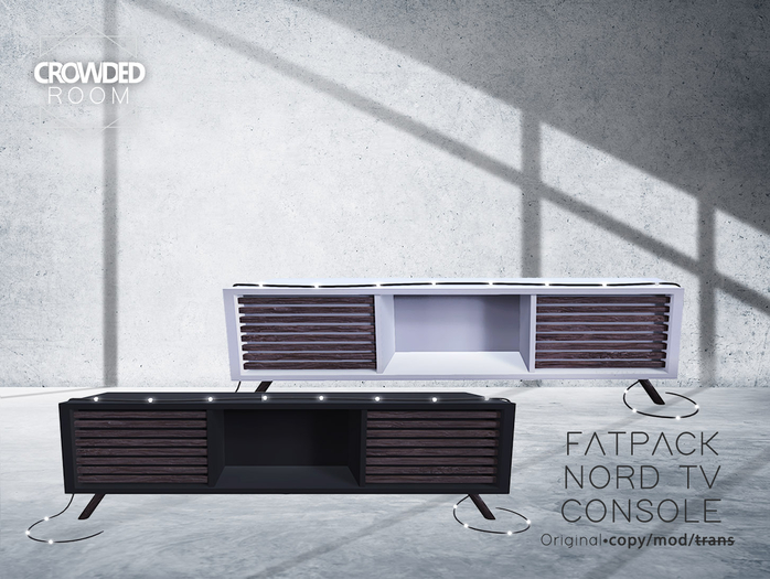 Crowded Room - Nord Tv Console - FATPACK