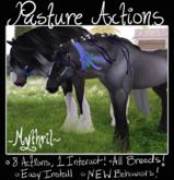 ~Mythril~ TEEGLEPET INTERACTS: Pasture Actions