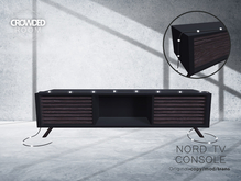 Crowded Room - Nord Tv Console - Black