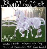 ~Mythril~ TEEGLEPET FOAL: Playful Companion Set