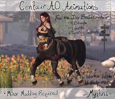 ~Mythril~ Centaur AO Animations