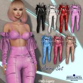 BRILLANCIA  - Amira Set Top (pink)
