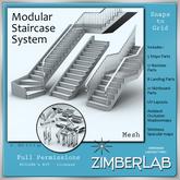 Mesh Stairs full perm - ZimberLab Stairs A