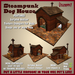 Steampunk Dog House by Vavoom! (Boxed) - Accessories and Toys for Virtual Kennel Club (VKC®) Pets - No Training Required