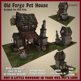 Old Forge Dog House by Vavoom! (Boxed) - Accessories and Toys for Virtual Kennel Club (VKC®) Pets - No Training Required