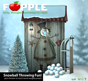 Fapple- Snowball Throwing Fun