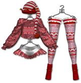 Graffitiwear Red & White Jingle Belle