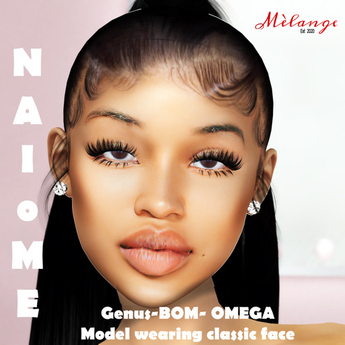 Melange- Naiome Skin Genus- Omega- BOM