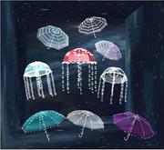 (Common)Chubee_M Twinkle Twinkle Umbrella Stripe white