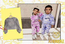 Admirable- Zella Set Sweater (Slate)