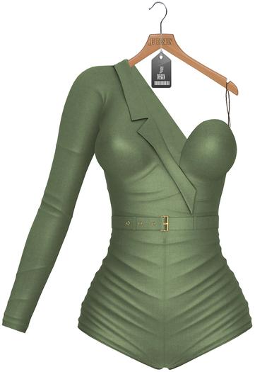 JF Design- Taylor Jumpsuit - Moss