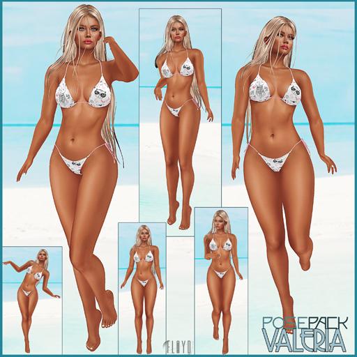.:F L O Y D:.Valeria Pose Pack 1