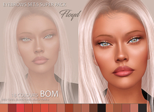 .:F L O Y D:.Eyebrows Set 5 Super Pack (BOM)