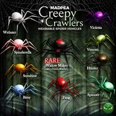 MadPea Creepy Crawlers - Violetta