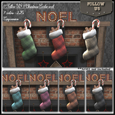 UPDATE !! Follow US !! Christmas cookie sock 7 colors