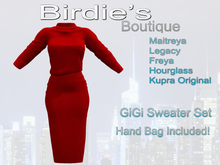 Birdie's Boutique - GiGi Style - Red