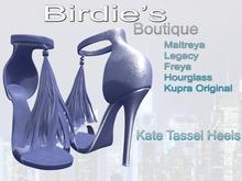 Birdie's Boutique - Kate Heels - Blue