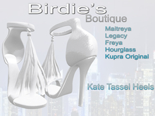 Birdie's Boutique - Kate Heels - White