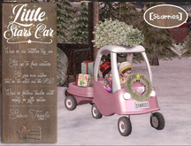 [Starries] Little Stars Christmas Car - Pink