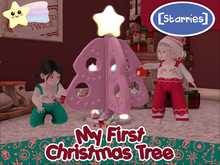 [Starries] My First Christmas Tree - Pinks (Interactive)