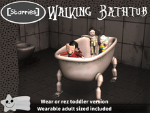 [Starries] Walking Bathtub - Kids & Adults