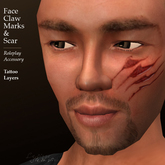Face Claw Marks and Scars (Lar's Workshop)
