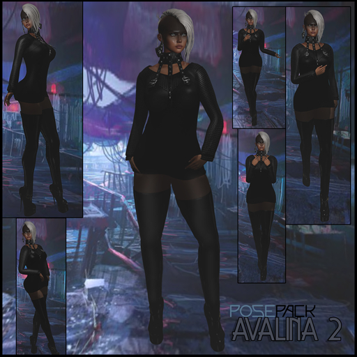 .:F L O Y D:.Avalina Pose Pack 2