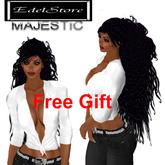 "GIFT cabelo mulher EdelStore ""Sarena"" majestosa"