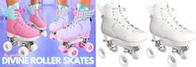 Spoiled - Divine Roller Skates White