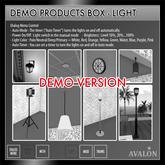 AVALON : Floor Photo Light MM01-01 (DEMO)