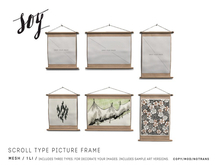 Soy. Scroll Type Picture Frame [addme]