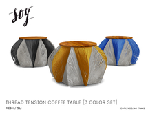 Soy. Thread tension Coffee Table [addme]